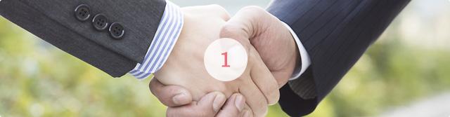 求職者×求人企業のマッチング力に強み